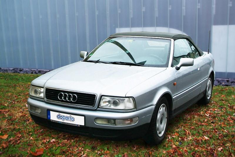 Audi Cabriolet - das erste Diesel-Cabriolet