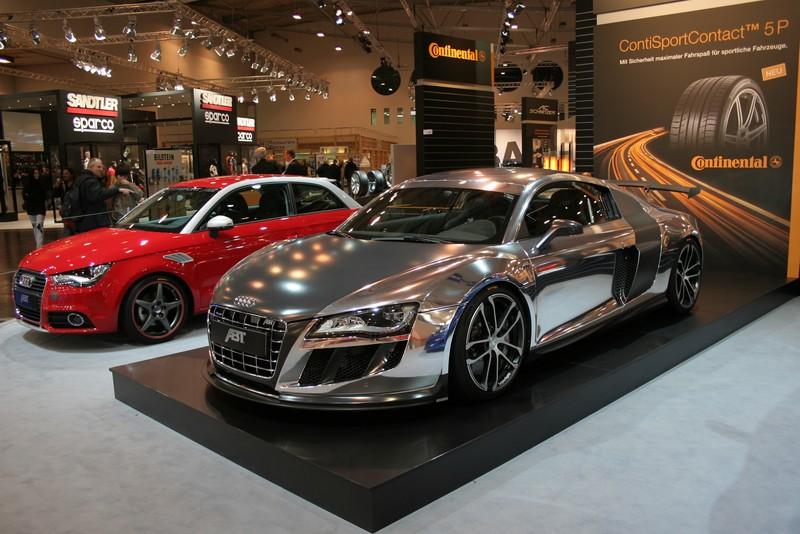 Audi R8 - heißes Sportgerät mit 4 Ringen