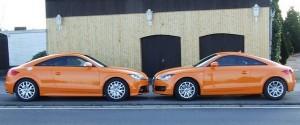 Audi TT Typ 8J