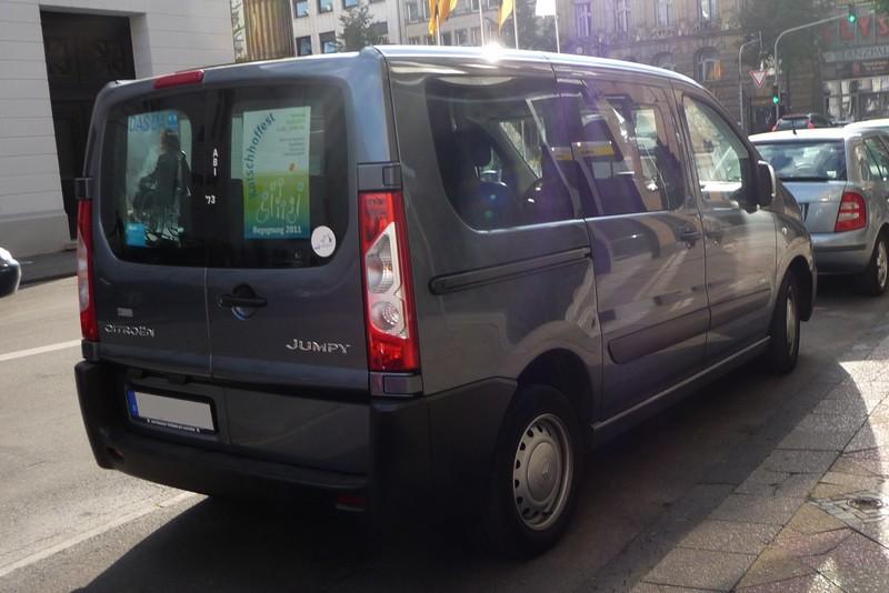 Citroën Jumpy - eine kommerzielle Version des Eurovans