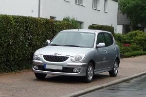Daihatsu Sirion I Facelift Front