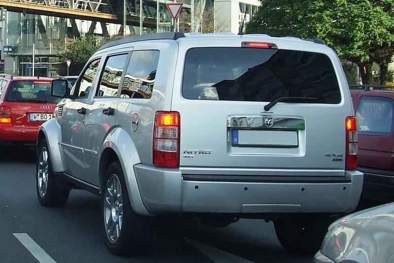Dodge Nitro - wegen Erfolglosigkeit eingestellt