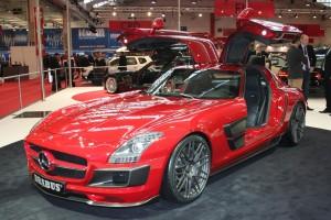 Mercedes-Benz SLS AMG in der Brabus-Version