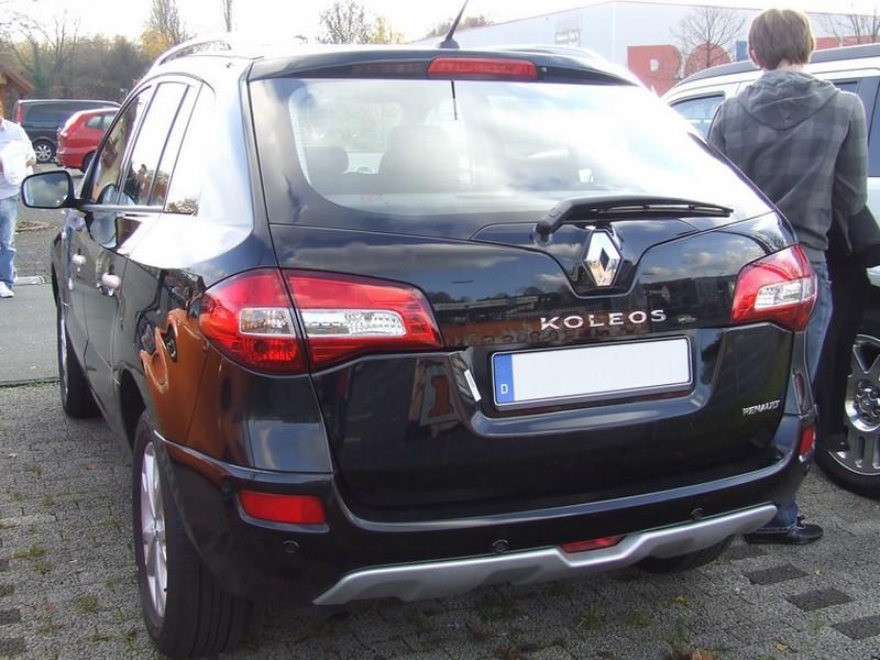 Renault Koleos - Renaults Beitrag zum SUV-Markt