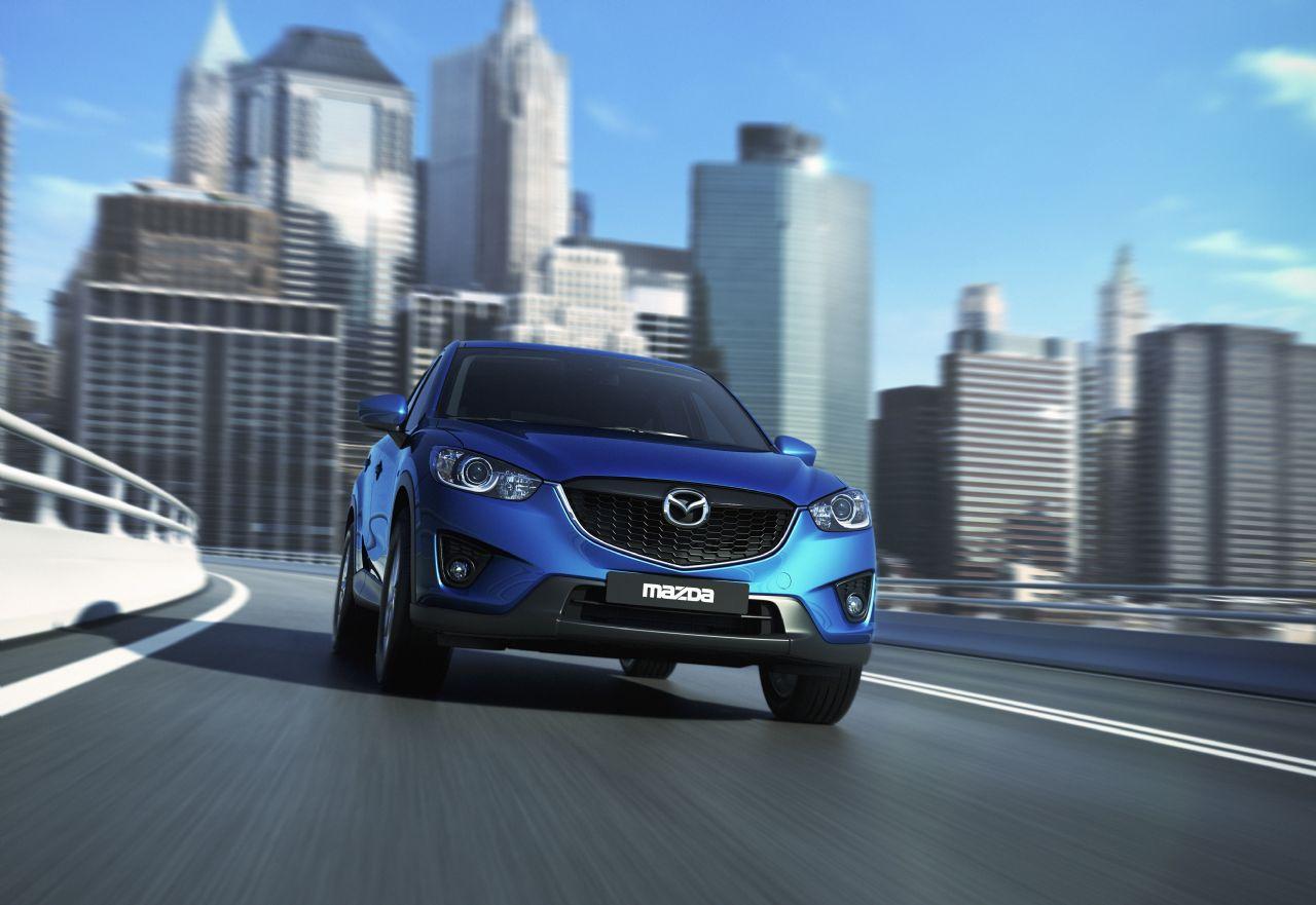 Der neue Mazda CX-5 kommt im April 2012