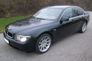 BMW 7er E65 Front