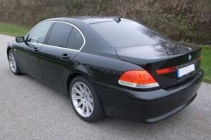 BMW 7er E65 Heck
