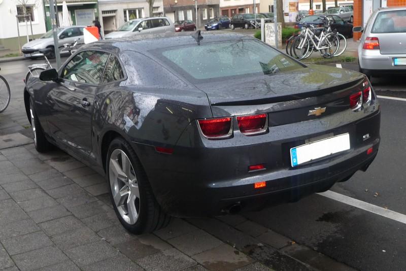 Chevrolet Camaro - jetzt auch offiziell in Deutschland zu bekommen