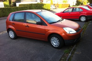 Ford Fiesta '02 Front