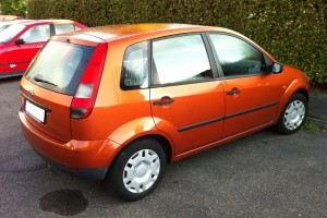 Ford Fiesta '02 Heck