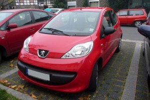 Peugeot 107 Front