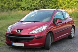 Peugeot 207 vor Facelift