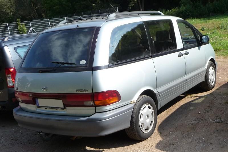 Toyota Previa I - ein außergewöhnlicher Van