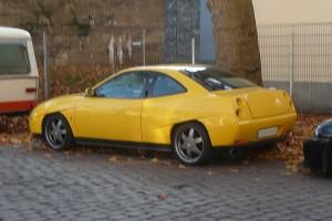 Fiat Coupé Heck