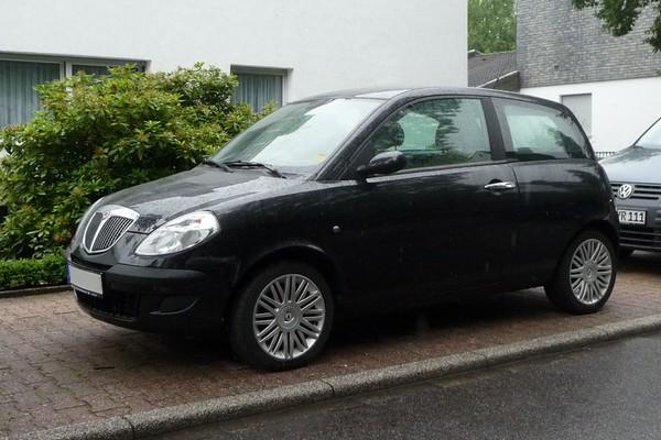 Lancia Ypsilon - Modellname diesmal ausgeschrieben