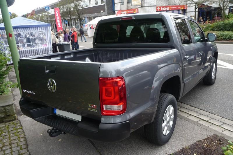 VW Amarok - nach langer Zeit mal wieder ein Pickup