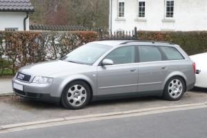 Audi A4 B6 Front