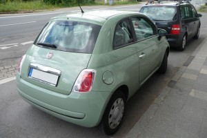 Fiat 500 Heck
