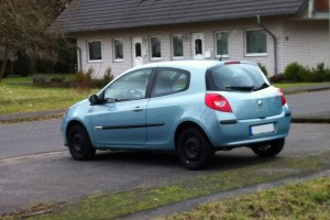 Renault Clio III Typ R Heck