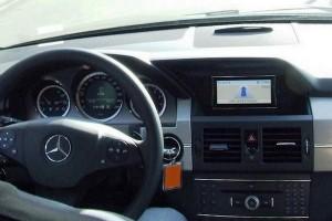 Mercedes-Benz GLK X 204 Innenansicht