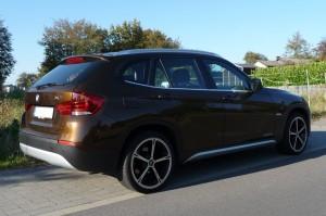 BMW X1 Heck