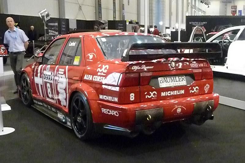 Alfa Romeo 155 - der hat mal die DTM gewonnen