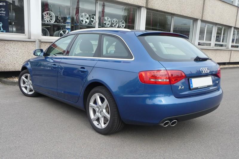 Audi A4 (B8) - jetzt auch mit Platz