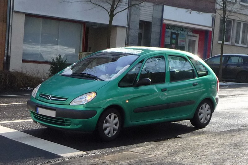 Citroën Xsara Picasso - kompakter Van mit großem Namen