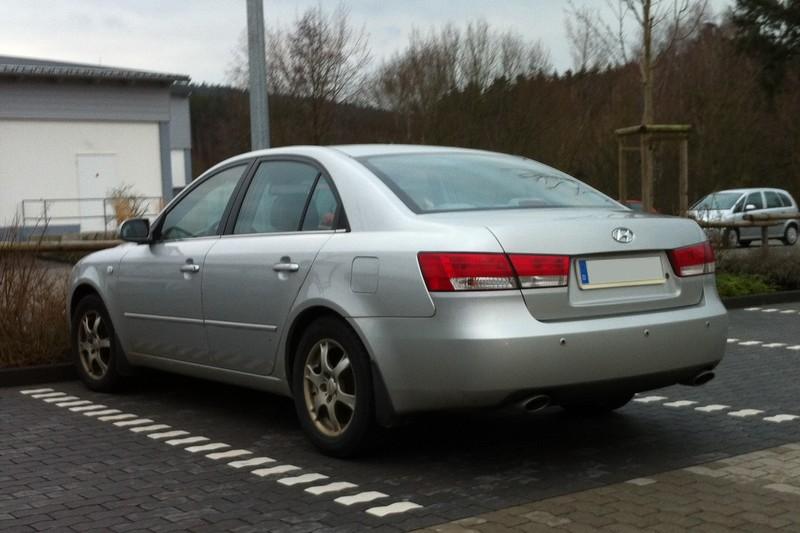 Hyundai Sonata V (Typ NF) - anders als sonst