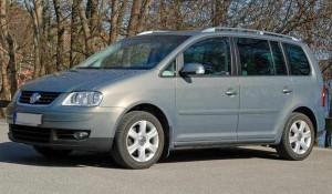 VW Touran Front