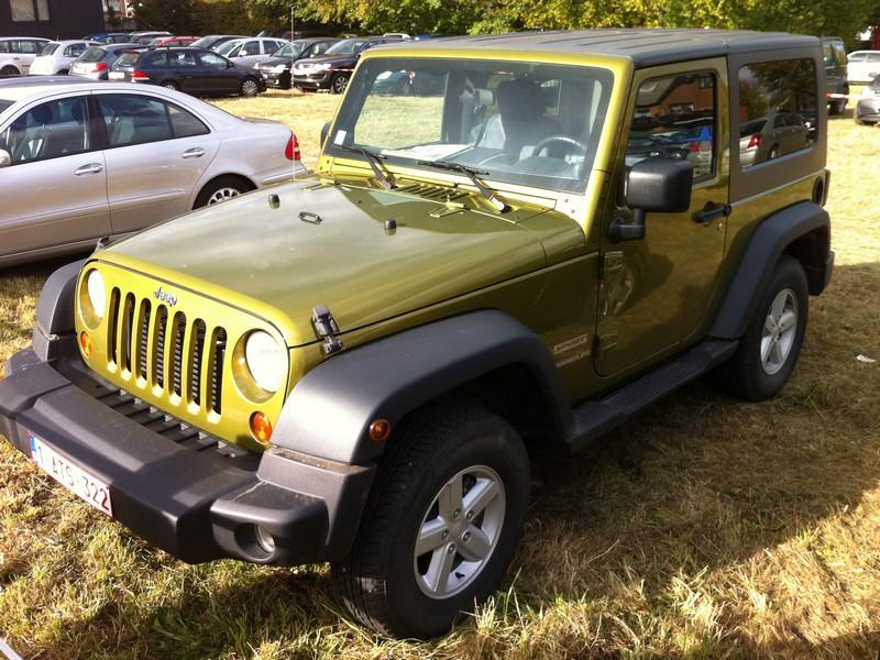 Jeep Wrangler Typ JK - der aktuelle Urahn des klassischen Jeeps