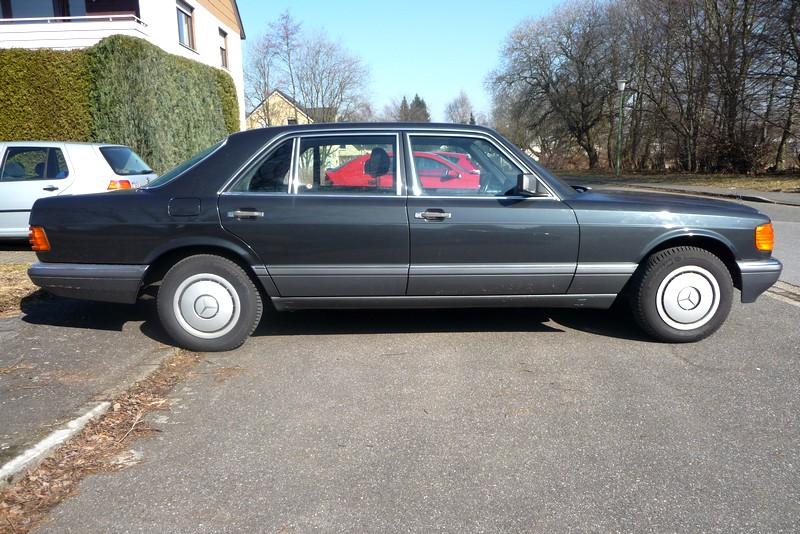 Mercedes-Benz S-Klasse W 126 - auch die Ersatzteilpreise sind Oberklasse